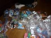 Huge collection of Macdonalds toys in bags