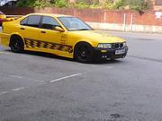 custom bmw 318i se yellow