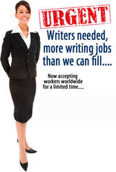 Data Entry Jobs . *** Writers Needed  ASAP ***