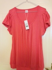 Oxmo brand new pink t-shirt basic £8